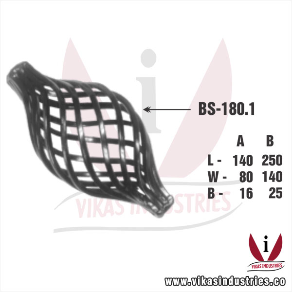 Wrought Iron Basket