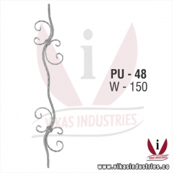 <p>Wrought Iron Panel Unit</p>