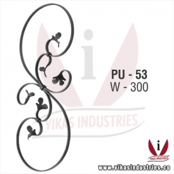 Wrought Iron Panel Unit